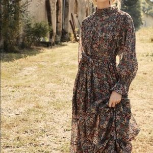 Doen Sonoma dress Wildberry Thicket S NWT